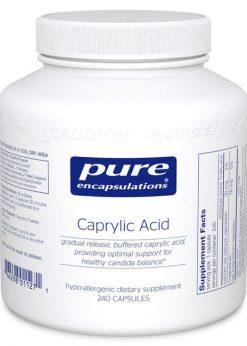 Caprylic Acid by Pure Encapsulations