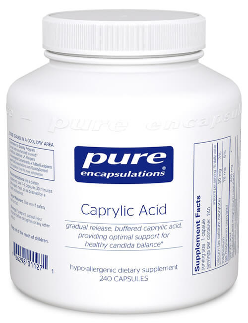 Caprylic Acid by Pure Encapsulations