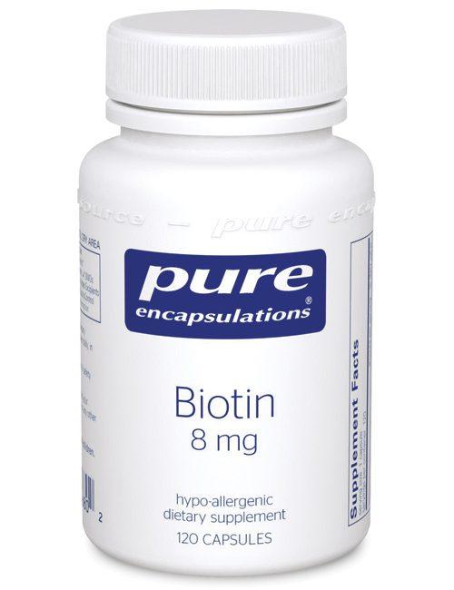 Biotin 8 mg. by Pure Encapsulations
