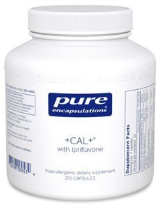 +CAL+® with  Ipriflavone by Pure Encapsulations