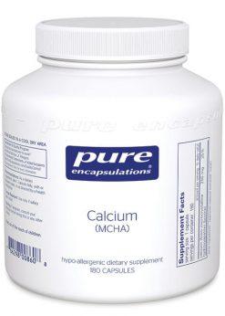 Calcium (MCHA) by Pure Encapsulations