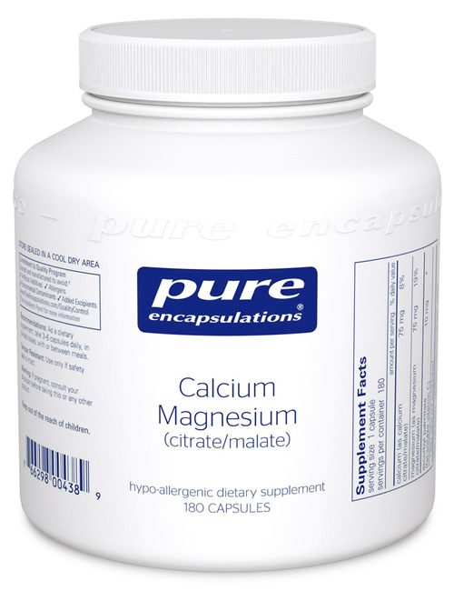 Calcium Magnesium Citrate/Malate by Pure Encapsulations
