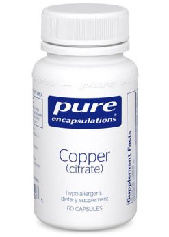 Copper (citrate) by Pure Encapsulations
