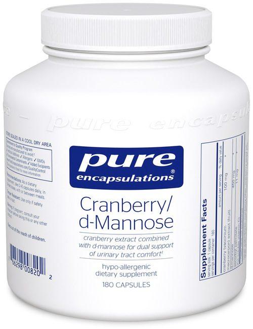 Cranberry/d-Mannose by Pure Encapsulations