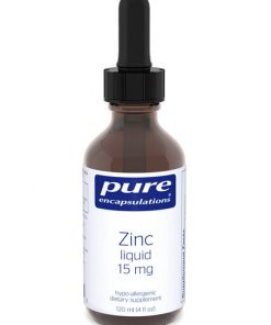 Zinc liquid 15 mg by Pure Encapsulations