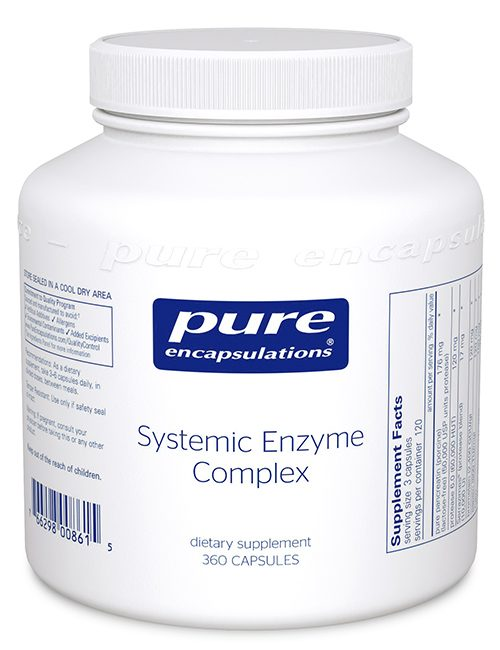 Systemic Enzyme Complex by Pure Encapsulations