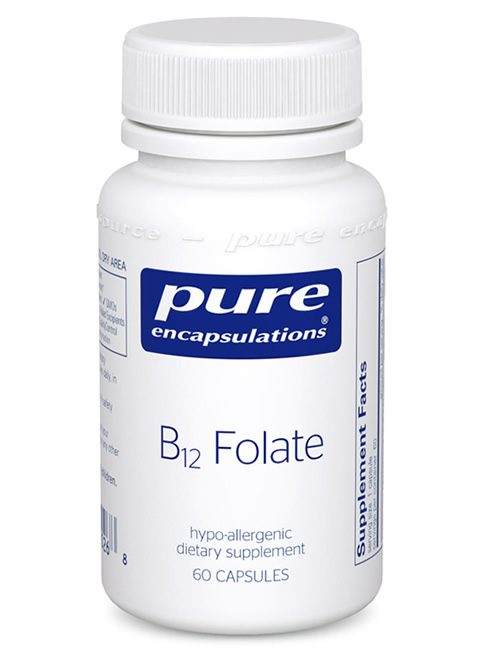 B12 Folate by Pure Encapsulations