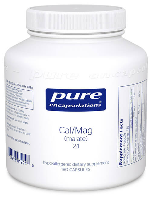 Cal/Mag (malate) 2:1 by Pure Encapsulations