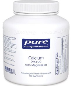 Calcium (MCHA) with Magnesium by Pure Encapsulations