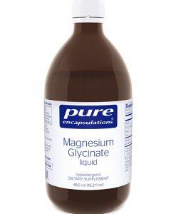 Magnesium Glycinate liquid by Pure Encapsulations