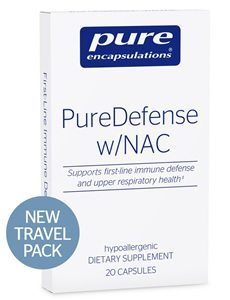 PureDefense w/NAC travel pack by Pure Encapsulations