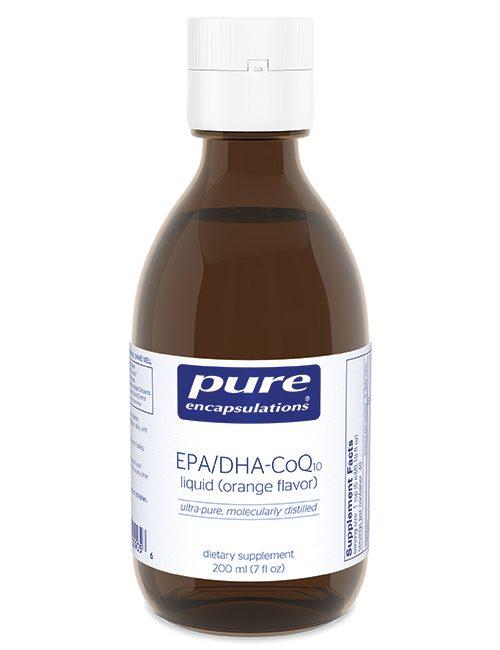 EPA/DHA–CoQ10 liquid by Pure Encapsulations