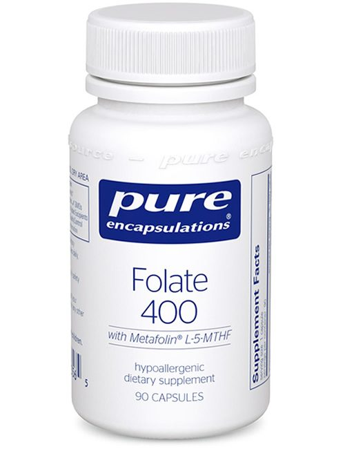 Folate 400 by Pure Encapsulations