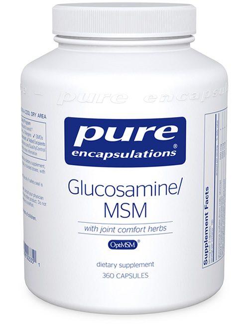 Glucosamine/MSM by Pure Encapsulations