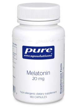 Melatonin 20 mg. by Pure Encapsulations