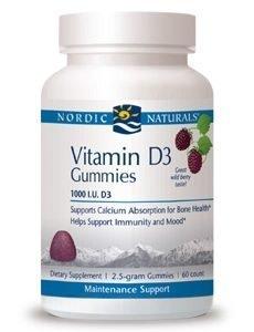 Vitamin D3 Gummies by Nordic Naturals Pro