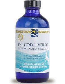 Pet Cod Liver Oil (medium and large breed dogs) by Nordic Naturals Pro