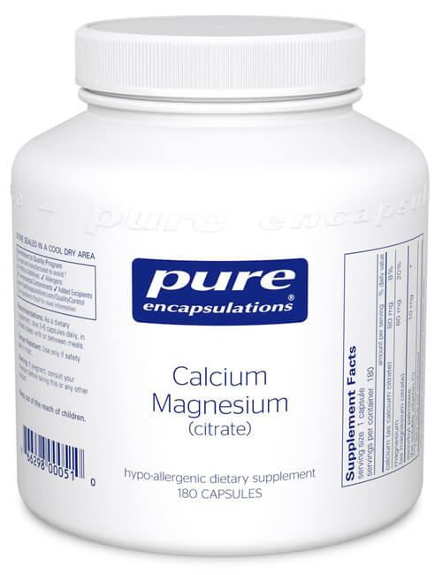 Calcium magnesium citrate by Pure Encapsulations