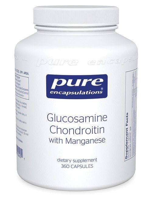 Glucosamine + Chondroitin with Manganese by Pure Encapsulations