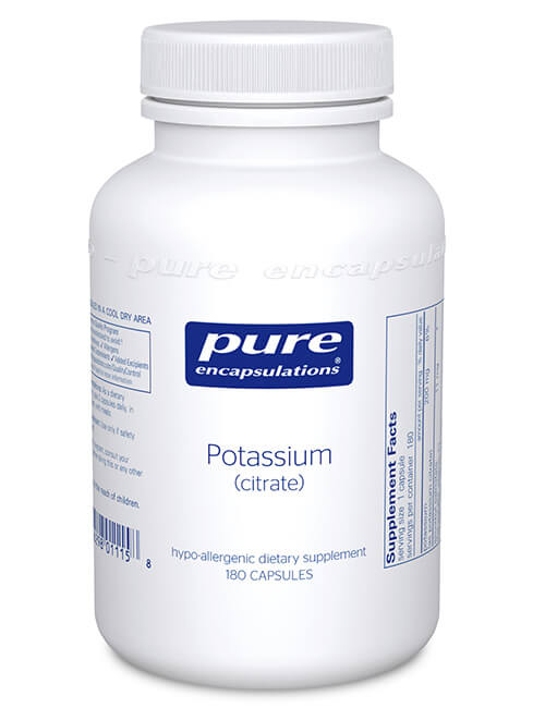 Potassium (citrate) by Pure Encapsulations