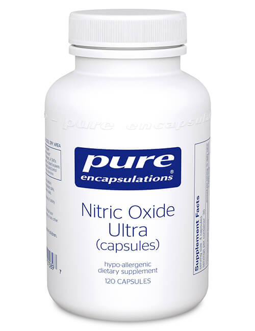 Nitric Oxide Ultra (capsules) by Pure Encapsulations