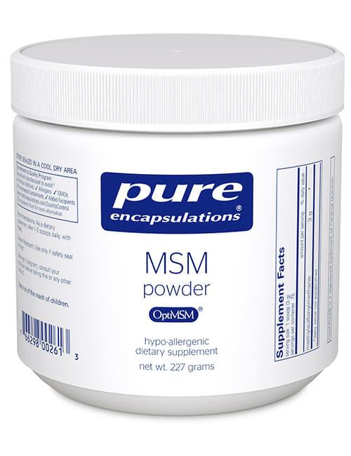 MSM Powder by Pure Encapsulations