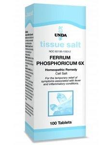 Ferrum Phosphoricum 6X by Unda