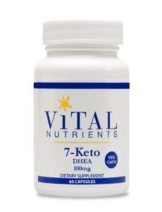 7-Keto DHEA 100mg by Vital Nutrients