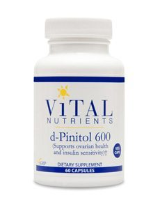 d-Pinitol 600mg by Vital Nutrients
