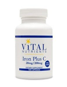 Iron Plus C by Vital Nutrients
