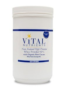 Whey Powder  with Organic Raw Chocolate by Vital Nutrients