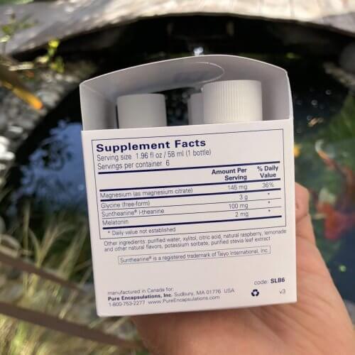 Sleep Solution (single dose liquid) – box of 6