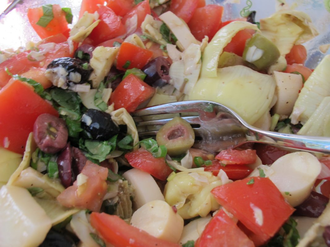 Grilled Mediterranean Vegetables and Quinoa Salad