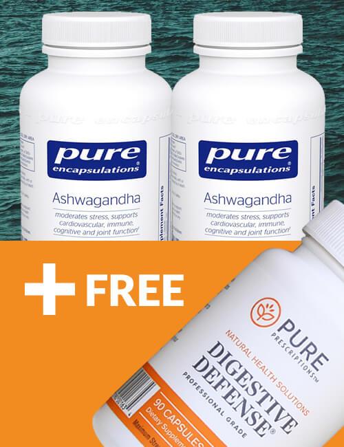 Ashwagandha + FREE Probiotics Package